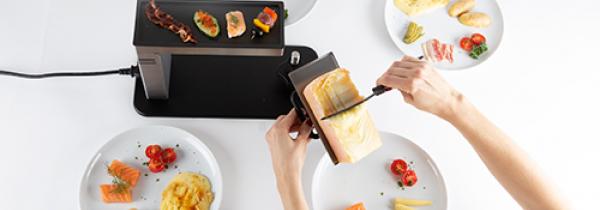 Raclette Käse Ofen Tischgrill Stöckli Swing
